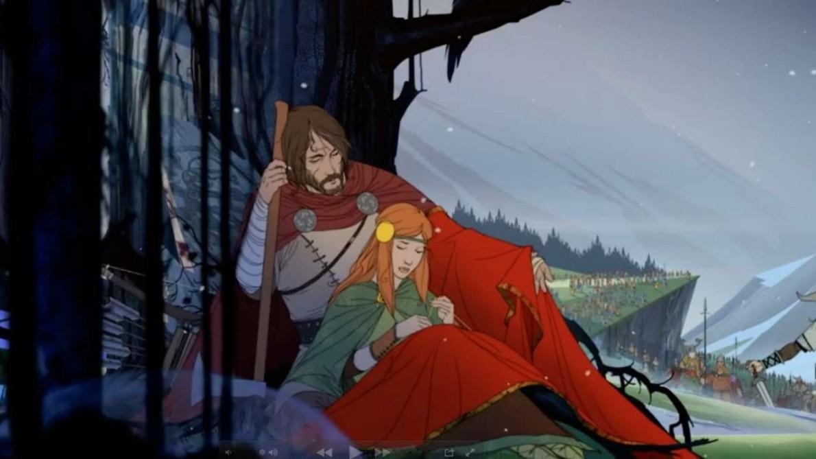 The Banner Saga (Xbox One, Video)
