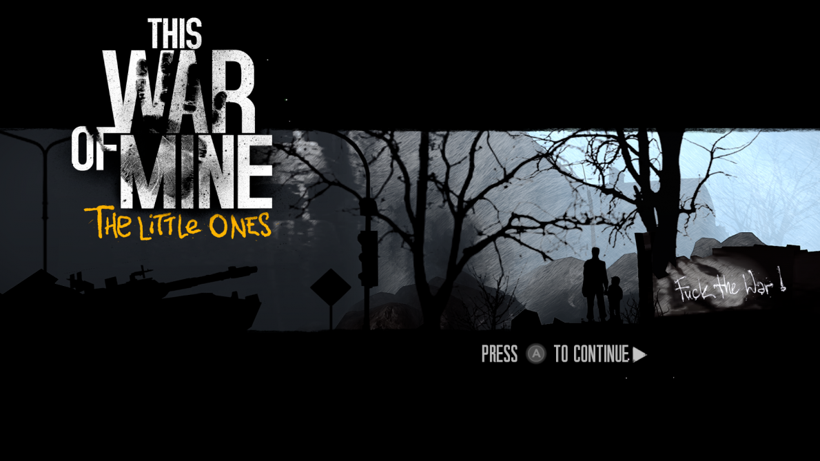 This War of Mine: The Little Ones (Xbox One, Video)