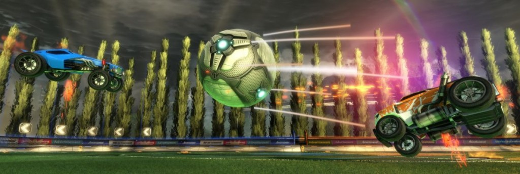 Rocket League Cross-Network Play for Xbox One and Steam PC launches today
