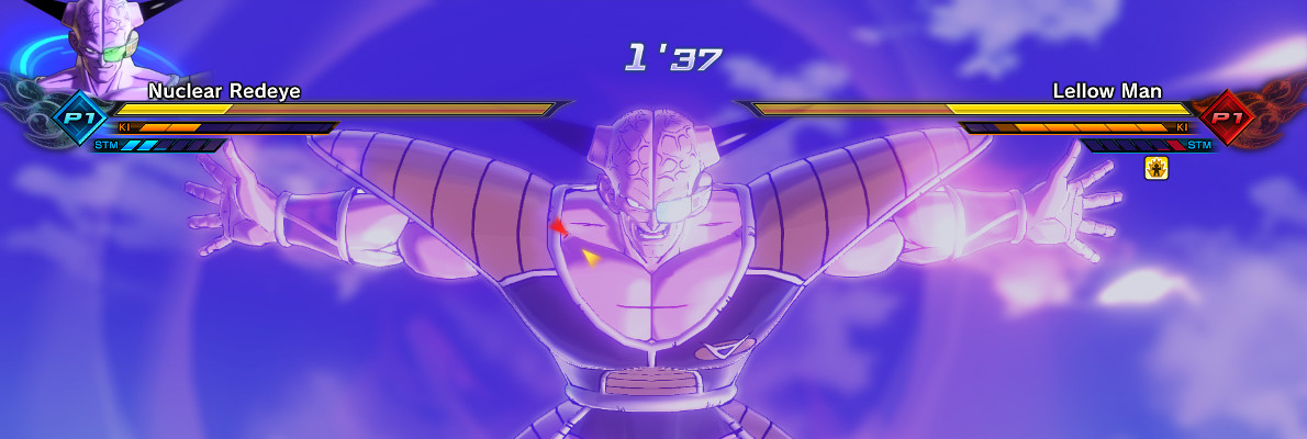 Captain Ginyu readies the famed Body Swap