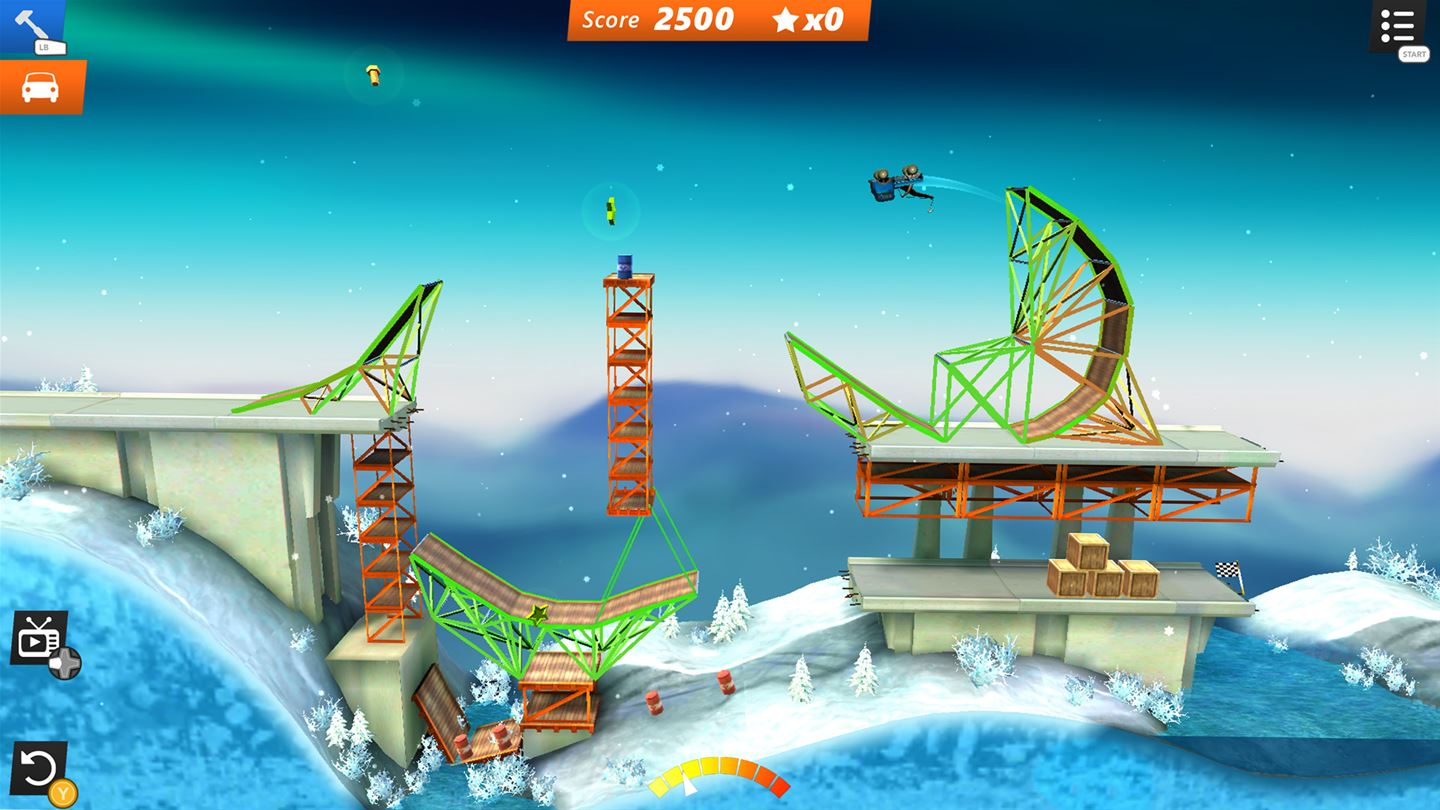 Bridge Constructor Stunts Screenshot1