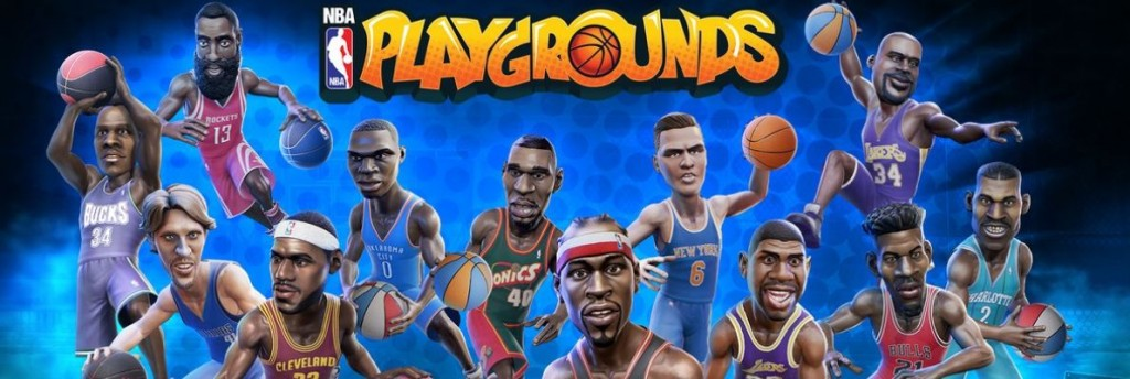 NBA Playgrounds (Xbox One, Video)