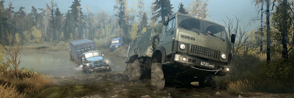 MudRunner a Spintires Game (Xbox One, Video)