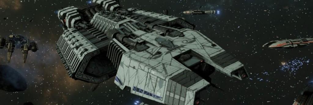 Battlestar Galactica Deadlock (Xbox One, Video)